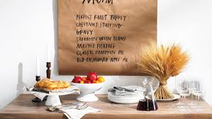 thanksgiving menu ideas martha stewart