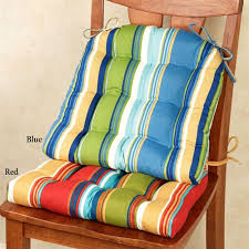 westport striped indoor outdoor chair cushion set