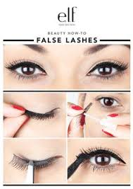 false lashes under your lashes this is the best way to apply false