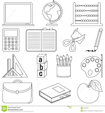 objects coloring pages and omeletta me