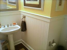 classic beadboard style paneling and wainscot