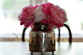 faux peonies peonies in vase images vases design picture