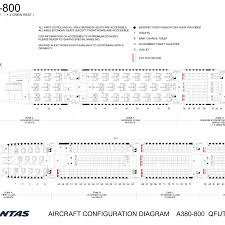 A380 Seat Map Qantas Revamps Airbus A380 New Seating Chart Shows Less Business