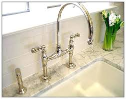 bridge kitchen faucets polished nickel faucet bridge kitchen faucets polished nickel