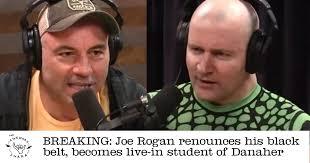 Joe Rogan Meme - breaking joe rogan returns his black belt to eddie bravo becomes