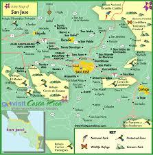 san jose costa rica on map san jose metro map costa rica go visit costa rica