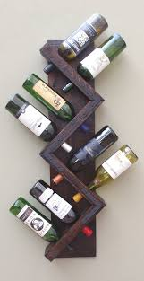 Hanging Wall Shelves Woodworking Plan by Best 25 Wine Rack Plans Ideas On Pinterest Wine Rack Diy