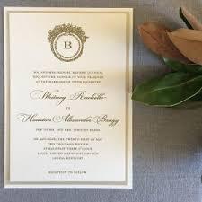 Monogram Wedding Invitations Wedding Invitations U2013 Cardinal And Straw