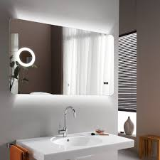 eneo 120 backlit mirror with magnifier streamline products