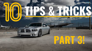 part 3 10 dodge charger u0026 mopar tips tricks u0026 hacks things