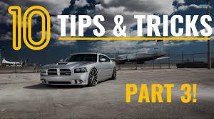 part 3 10 dodge charger u0026 mopar tips tricks u0026 hacks things