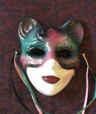 mardi gras ceramic masks ceramic home d cor masks ebay