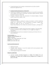 Offshore Resume Samples by A Beautyful Resume Sample In Word Doc Mba Hr With 4 Years
