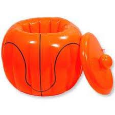 basketball party supplies basketball cooler