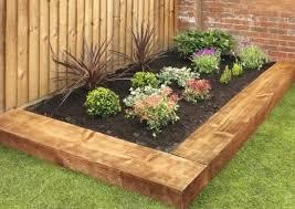 Garden Sleeper Ideas Garden Designs With Railway Sleepers Kiepkiep Club