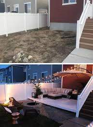 Small Backyard Deck Patio Ideas Best 25 Small Backyards Ideas On Pinterest Patio Ideas Small