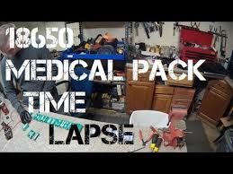 diy tesla powerwall diy tesla powerwall ep26 18650 medical pack time lapse youtube