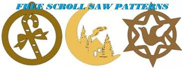 simple scroll saw ornament patterns plans diy free