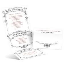 Playbill Wedding Programs Vintage Wedding Invitations Ann U0027s Bridal Bargains