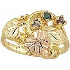 black gold mothers ring black gold jewelry g905 gn s ring with genuine