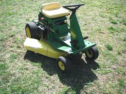 manual lawn mower i bought a john deere x300 mower brand new