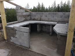 construction cuisine d t ext rieure cuisine cuisine ete bois luxury merveilleux construire sa terrasse