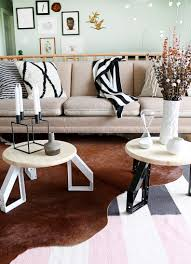 Diy Round Coffee Table by Diy Low Profile Round Tables Hello Lidy