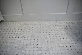basketweave floor tile in bathroom design robinson house