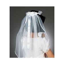 communion veil communion veil white ribbon the catholic company