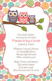 Baby Shower Book Instead Of Card Poem Book Instead Of A Card Idea For Baby Shower U003e If I Ever Have