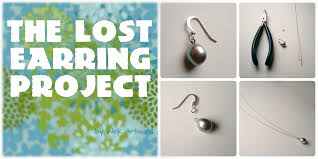 lost earrings wink artisans the lost earring project demo for the etsy craft party