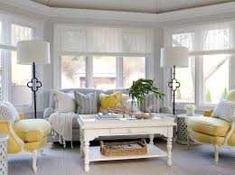 Butter Yellow Sofa Yellow And Gray Rooms Design Ideas