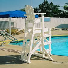 Tall Outdoor Chairs Tailwind Tlg530 Tall Lifeguard Chair With Side Steps Lifeguard