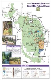 Map South Dakota Black Hills National Forest Guide Map Custer South Dakota U2022 Mappery