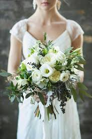 wedding flowers eucalyptus pretty types of flowers for winter wedding bouquets by