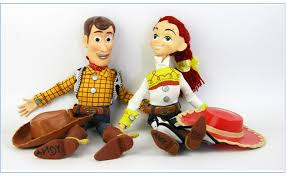 aliexpress buy pixar toy story 3 talking woody jessie pvc