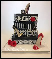 50th birthday high heel cake cakecentral com
