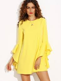 yellow dresses cheap women u0027s vintage dresses online shein com