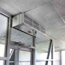 Loading Dock Air Curtain Commercial Low Profile Air Curtains Tmi Llc