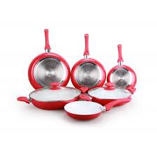 batterie de cuisine ceramique batterie de cuisine céramique 8 pieces cenocco cc 9003 c