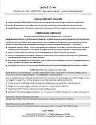 Human Resource Resumes Hr Manager Resume Accomplishments Strategic Thinker Business