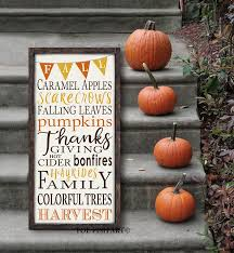 birch wood halloween background fall sign autumn harvest fall decorations thanksgiving