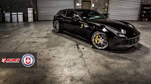 dark purple ferrari ferrari ff with hre p101 in brushed dark clear hre performance
