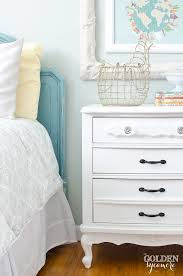 white nightstand make under the golden sycamore