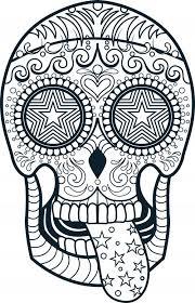 sugar skull coloring pages free coloring pages tips