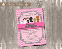 wars baby shower decorations baby shower invitations extraordinary wars baby shower