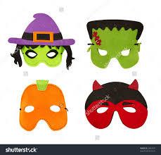 halloween clipart skull screm mask witches hat bat pumpkin moon