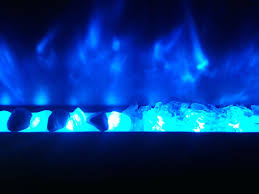 exotic glass crystal reflective fire electric fireplace crystals