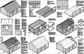 shed floor plans 17 gambrel shed plans 16x20 10 215 12 gambrel storage shed