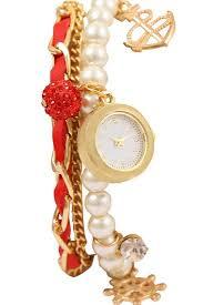 ladies pearl bracelet watches images Skylofts casual pearl bracelet watches fashion ladies girls jpg